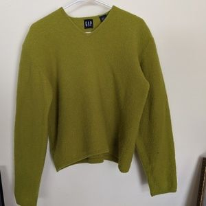 Gap Wool Cropped Sweater